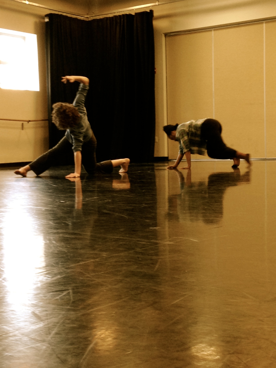 Circulation Project Rehearsal 1: Jessie Laurita-Spanglet & Candace Scarborough